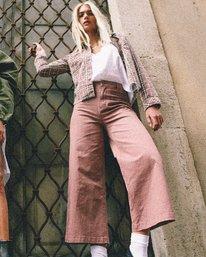 0 Niku High Waist Cropped Trouser Brown W305VRNI RVCA