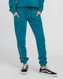 0 Pinner Fleece Sweat Pant Multicolor W322SRPI RVCA
