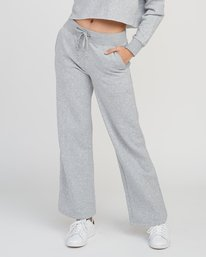 0 Stakeit Wide Leg Fleece Pant Grey W352SRST RVCA