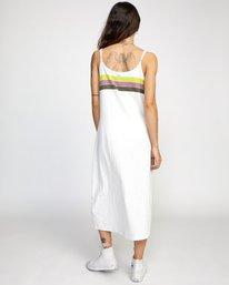 1 Selma - Robe midi pour Femme Blanc W3DRRTRVP1 RVCA
