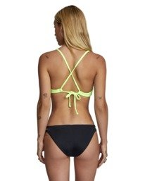 0 Solid - Full Bikini Bottoms for Women Black W3SBRCRVP1 RVCA