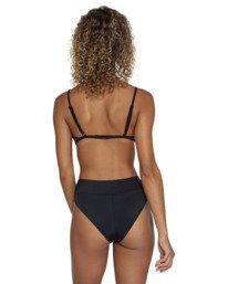 0 Solid High Rise - Mini Bikini Bottoms for Women Black W3SBRFRVP1 RVCA