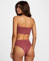 0 Solid High Rise - Mini Bikini Bottoms for Women Purple W3SBRFRVP1 RVCA