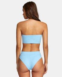 0 Solid High Rise - Mini Bikini Bottoms for Women Blue W3SBRFRVP1 RVCA