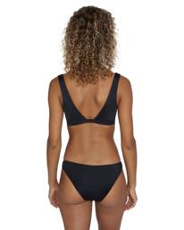0 Solid Medium - Medium Bikini Bottoms for Women Black W3SBRORVP1 RVCA