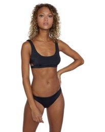 0 Solid Bralette - Bikini Top for Women Black W3STRBRVP1 RVCA