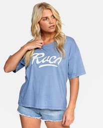 0 FRIDAY BOYFRIEND TEE Purple W4072RFY RVCA