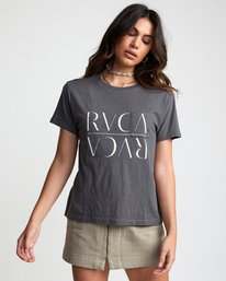 0 UNDER OVER TEE Green W4103RUO RVCA