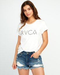 0 Angler Relaxed Pocket T-Shirt White W412URAN RVCA