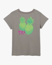 0 Double Pineapple Pocket T-Shirt Grey W412URDP RVCA