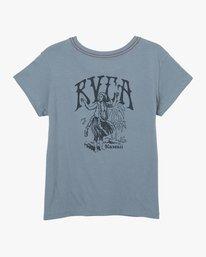 0 Hi Hula Pocket T-Shirt Blue W412URHH RVCA