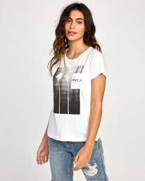 0 Copy Cat Relaxed T-Shirt White W412VRCO RVCA