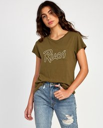 0 Flow Relaxed T-Shirt  W412VRFL RVCA