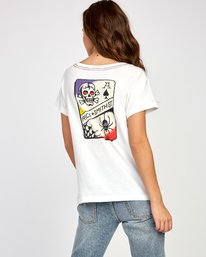 0 Smith Street T-Shirt White W412VRSS RVCA