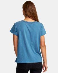 1 Pinscript Pocket T-Shirt  W412WRPI RVCA