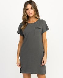 0 Bert Krak OE T-Shirt Dress  W426QRBE RVCA