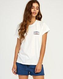 0 Balance T-Shirt White W436TRBA RVCA