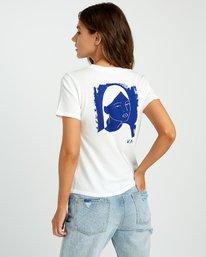 0 Johanna Olk Frosty Gaze Baby T-Shirt White W443URFR RVCA