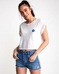 2 Happy Sad Cropped T-Shirt  W445VRHA RVCA