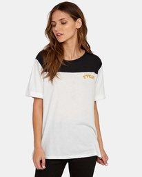 0 Cooper Burnout T-Shirt White W446WRCO RVCA