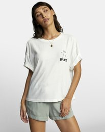 0 BALANCE ROLL IT TEE White W4493RBA RVCA