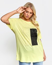 0 DAY NIGHT TEE Orange W4502RDN RVCA