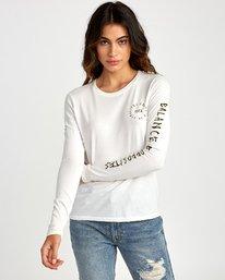 0 Hortonsphere Long Sleeve T-Shirt White W468VRHO RVCA
