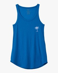 0 Resort HI Tank Top Blue W477VREH RVCA