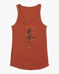 0 Move Tank Top Orange W477VRMH RVCA