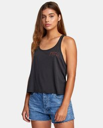 0 Alex Matus Dry Valley Tank Top Black W477WRDR RVCA