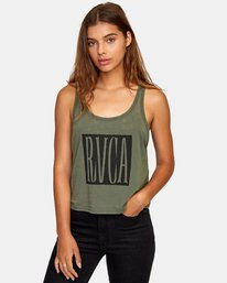 0 Stretched Tank Top  W477WRST RVCA