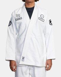1 RVCA X Bedwin X Shoyoroll - Gi de jiu-jitsu pour Homme Blanc W4ESRARVP1 RVCA