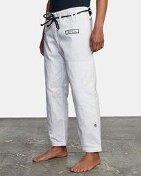 5 RVCA X Bedwin X Shoyoroll - Gi de jiu-jitsu pour Homme Blanc W4ESRARVP1 RVCA