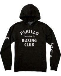 0 VA Sport Parillo Boxing Club - Hoodie for Men Black W4HOMBRVP1 RVCA