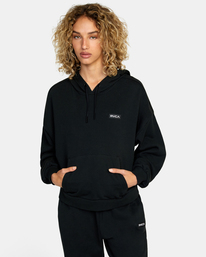 0 VA Essential - Sweat à capuche pour Femme Noir W4HOWCRVP1 RVCA