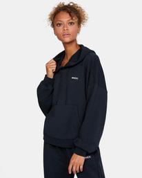 5 VA Essential - Sweat à capuche pour Femme Noir W4HOWCRVP1 RVCA