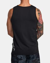 3 Sport Vent - Haut de sport pour Homme Noir W4KTMCRVP1 RVCA