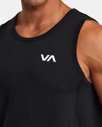 4 Sport Vent - Haut de sport pour Homme Noir W4KTMCRVP1 RVCA