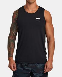 2 Sport Vent - Haut de sport pour Homme Noir W4KTMCRVP1 RVCA