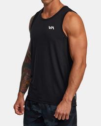 5 Sport Vent - Haut de sport pour Homme Noir W4KTMCRVP1 RVCA