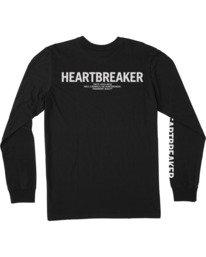 1 Bedwin Heartbreaker - T-shirt manches longues pour Homme Noir W4LSMCRVP1 RVCA