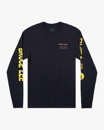 0 Bruce Lee As You Think - T-shirt manches longues pour Homme Noir W4LSMERVP1A RVCA