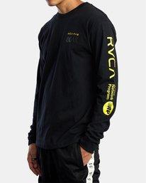 5 Bruce Lee As You Think - T-shirt manches longues pour Homme Noir W4LSMERVP1A RVCA