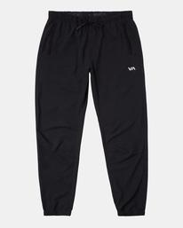 0 VA Sport Yogger II - Pantalón de chándal para Hombre Negro W4PTMFRVP1 RVCA