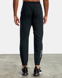 3 VA Sport Yogger II - Pantalón de chándal para Hombre Negro W4PTMFRVP1 RVCA