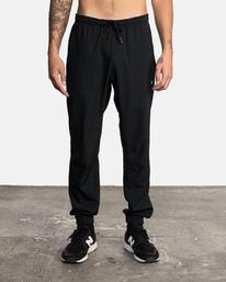 2 VA Sport Yogger II - Pantalón de chándal para Hombre Negro W4PTMFRVP1 RVCA