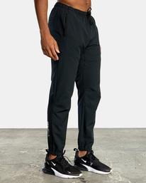 7 VA Sport Yogger II - Pantalón de chándal para Hombre Negro W4PTMFRVP1 RVCA