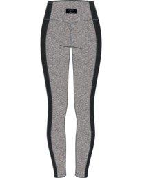 8 Everlast x RVCA Lace Up - Legging de sport taille haute pour Femme Gris W4PTWDRVP1 RVCA