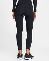 1 Compression - Legging de sport pour Femme Noir W4PTWHRVP1 RVCA