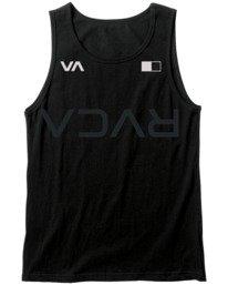 0 VA Sport Big RVCA Banner - Débardeur pour Homme Noir W4SGMBRVP1 RVCA